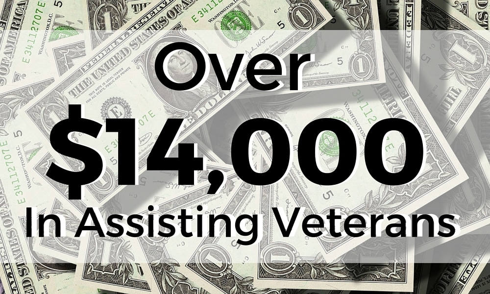 Over $14,000 provided to heroes in need.