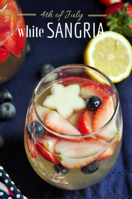 4ht of July White Sangria