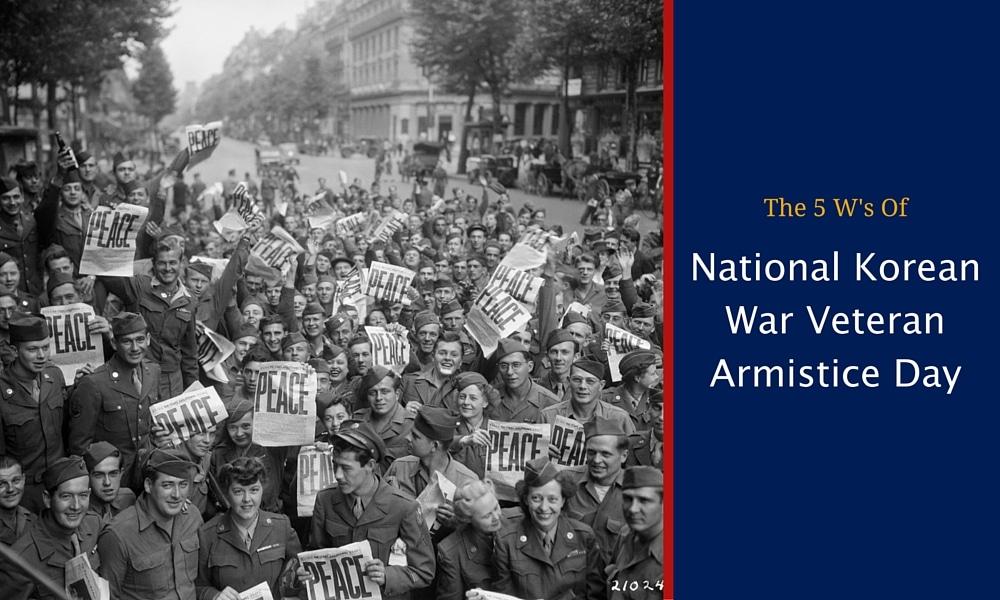 National Korean War Veteran Armistice Day
