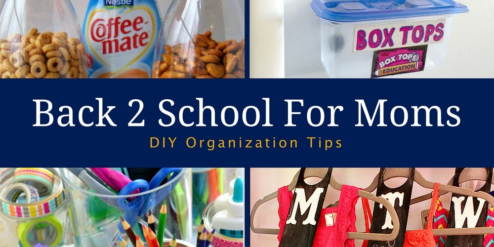 Back To School Organization for Mom