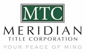 Meridian Title Corporation South Bend Logo