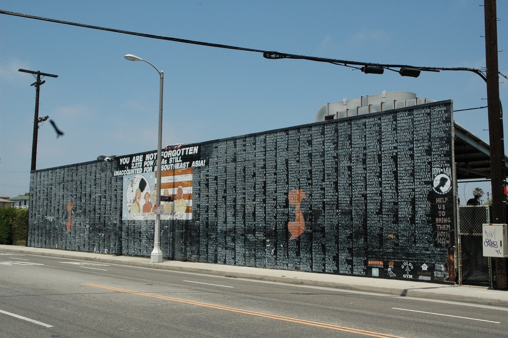 POW MIA Memorial Mural
