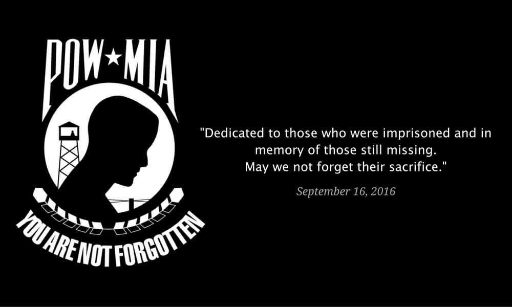 POW MIA Blog Feature Photo