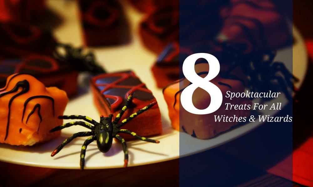 Halloween Treats Blog Post Graphic