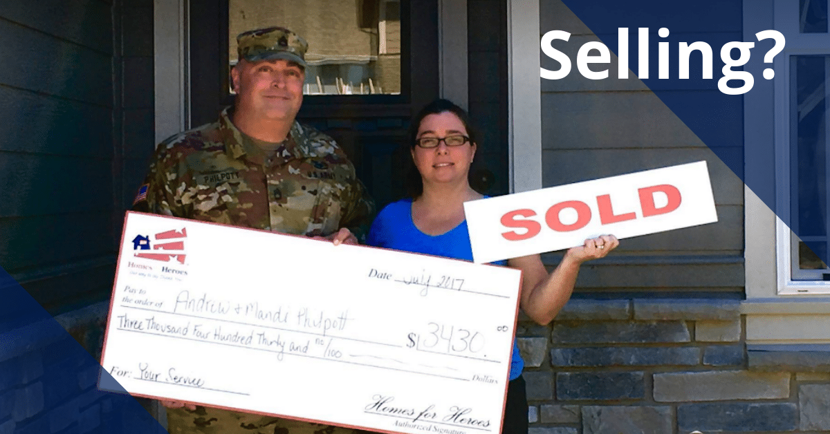 Military Couple How to Sell Your House Homes for Heroes Savings