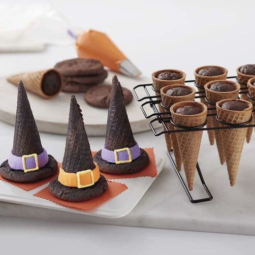 Witch Hat Cupcake Cones