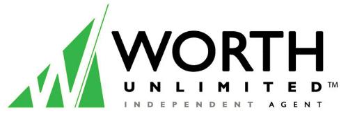 worth independent agent logo