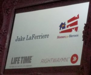 Jake LaFerriere, honorary Agent of Hope and Living Hero - Honor the Uniform