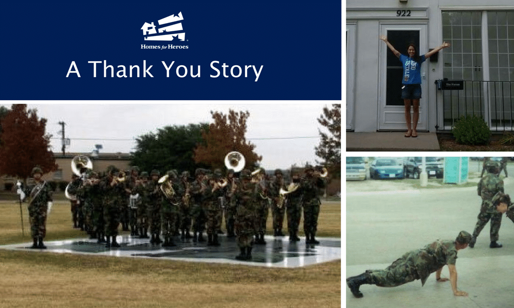 Thank You Story; Soldier Finds Her Home by Following Her Dreams