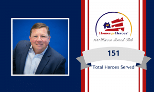 The Craig McKenzie Team joins the 100 heroes served club by serving 151 heroes
