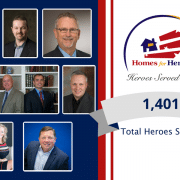7 Homes for Heroes Partners enter the Heroes Served Club