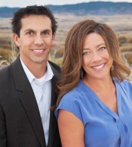 headshot of Doug & Tara Simmons