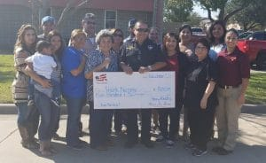 Victoria, Texas Firefighter receives Christmas Miracle from Homes for Heroes and local community