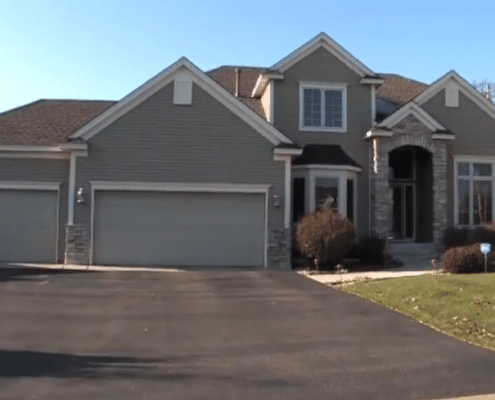 Blackwell's beautiful home