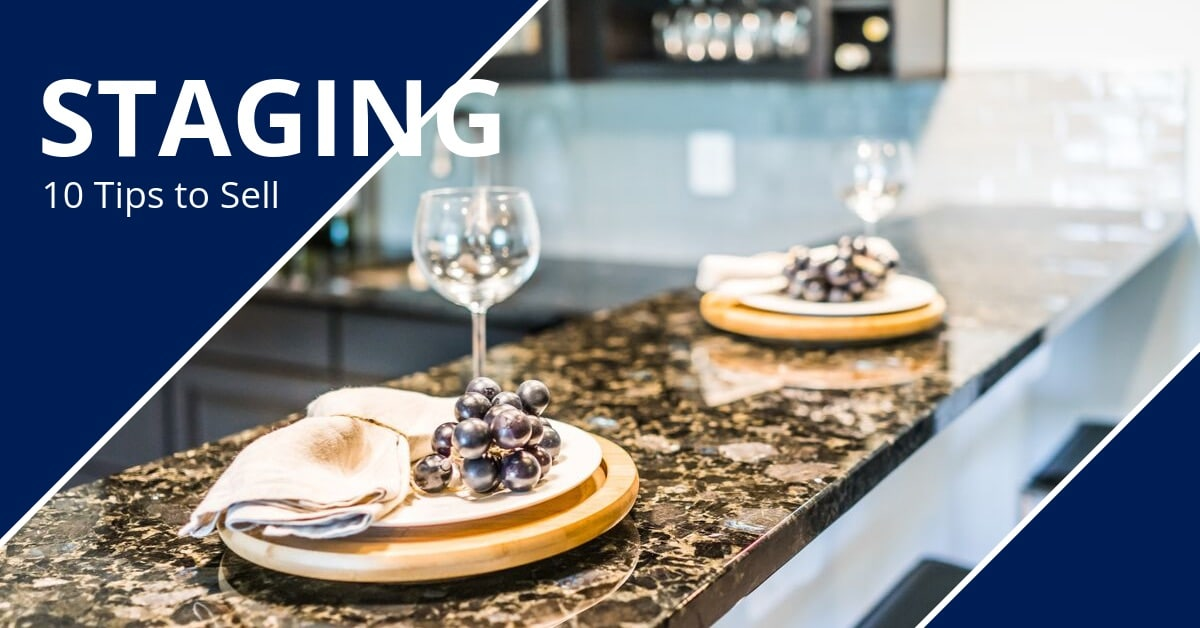 Home Staging Tips to Sell Your House Place Settings Wine Glasses