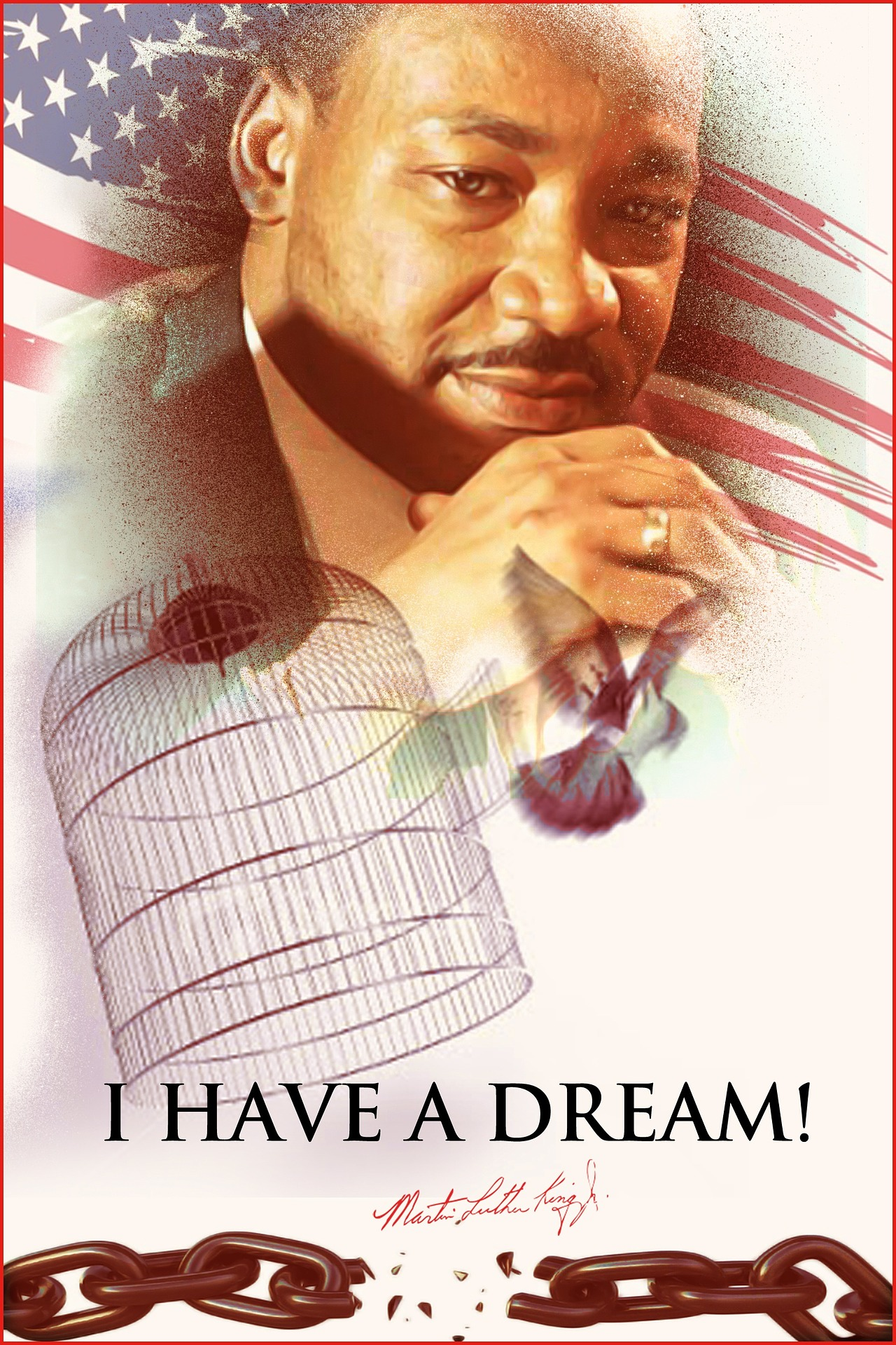 Martin Luther King Jr dream was born