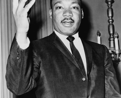 Martin Luther King Jr stood against cruelty