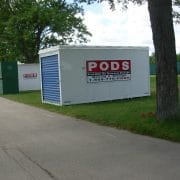 PODS used for moving with military discounts
