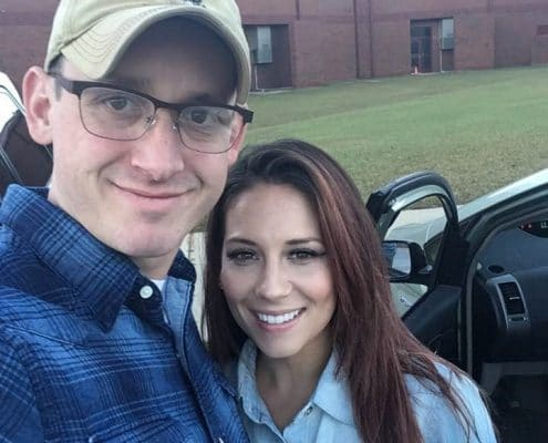 Staff Sergeant Nicholas T. Molina and wife Darla