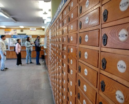 change your address at the local post office