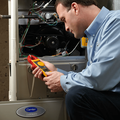 how to clean furnace blower
