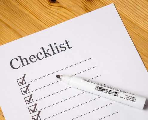 First time homebuying checklist picture
