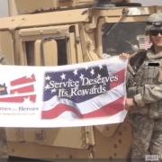 military heroes Katie and Steve Blackwell