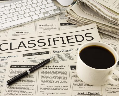 Classified News Paper