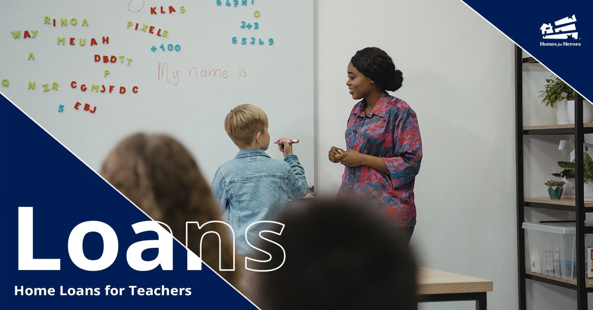 Woman teacher helping a boy student with a problem at the whiteboard