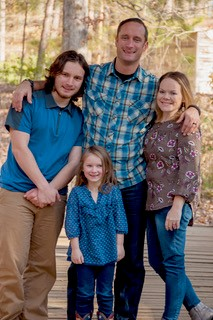 Sergeant Jason C Brown and family