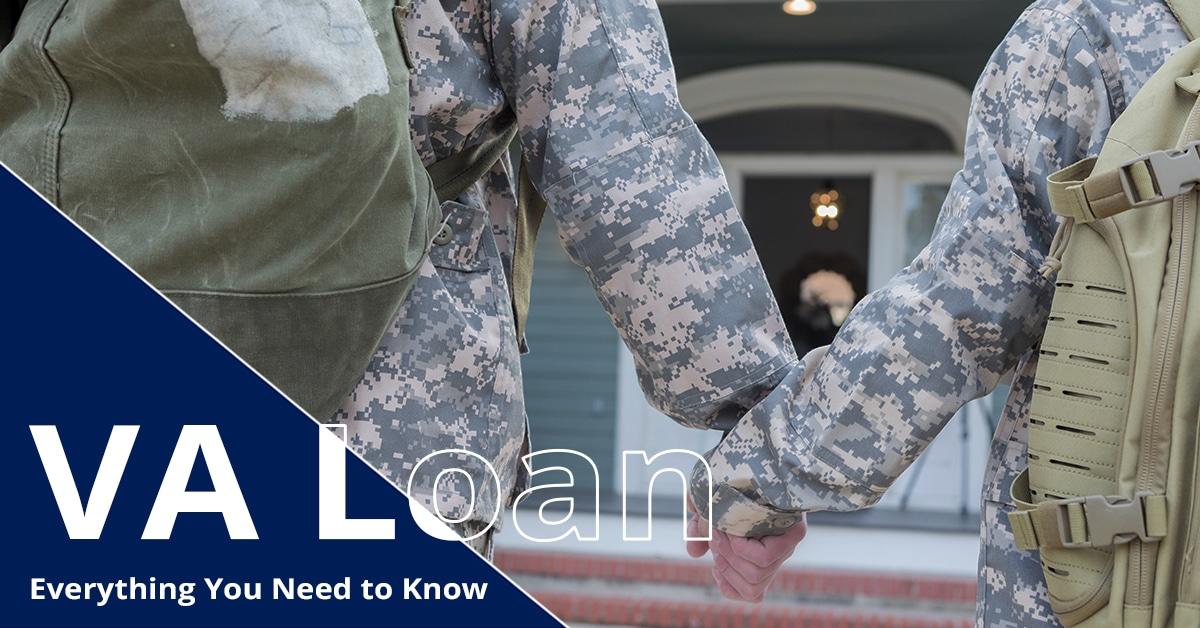 Man and woman wearing military uniform holding hands in front of a house