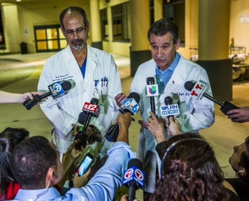 medical personnel in FLorida school shooting