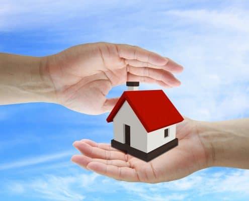 pass home in an inheritance