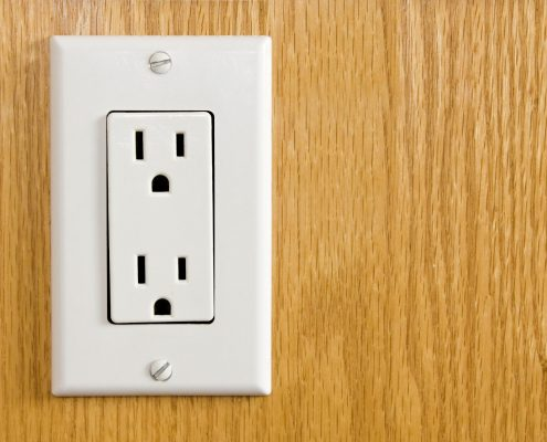 use switches and outlets to find studs