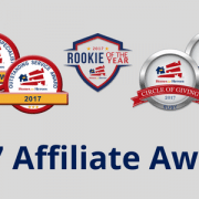 2017 Homes for Heroes Affiliate Awards