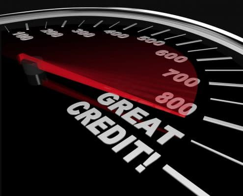 new home rates credit score