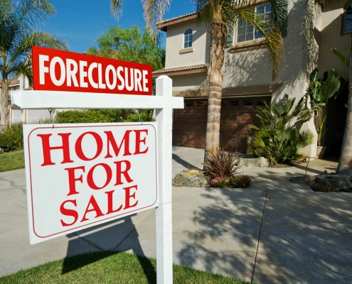 foreclosure with good faith deposit