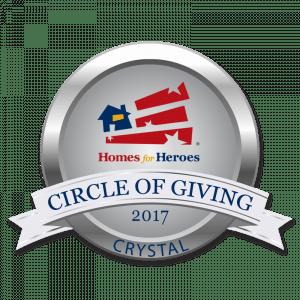 Circle of Giving Award - Crystal Level