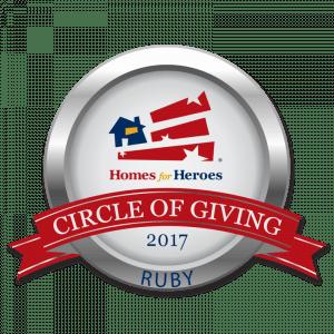 Circle of Giving Award - Ruby Level