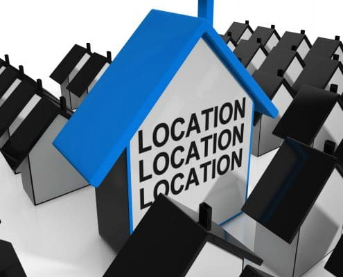 location is important in foreclosure homes