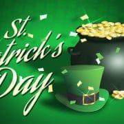 luck of the Irish on St Patricks Day