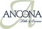Ancona Title Escrow Logo