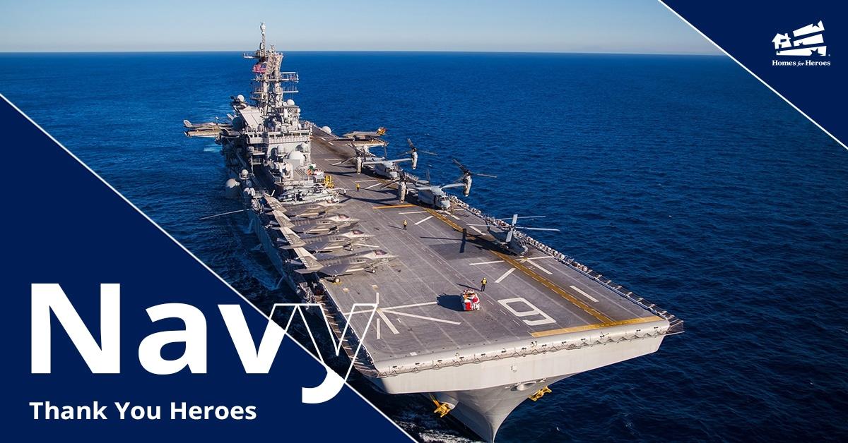 US Navy Aircraft Carrier at sea