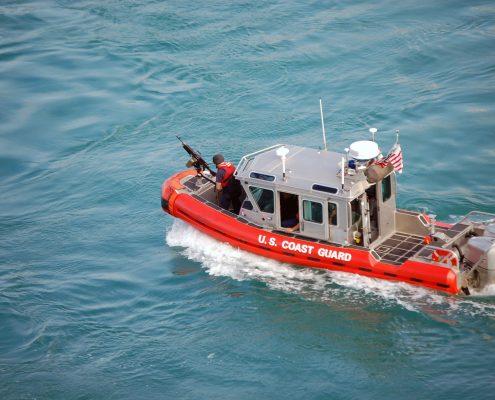 U.S. Coast Guard Patrol Boat