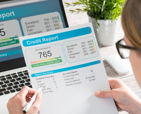 Work on Your Credit Score