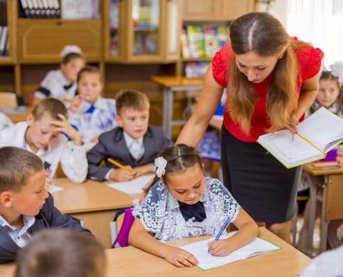 teachers watch over our children
