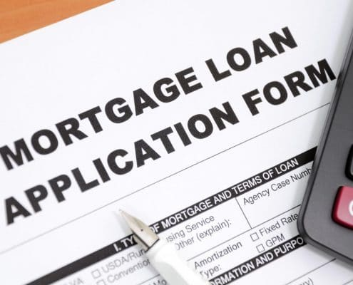 Mortgages Loan Form
