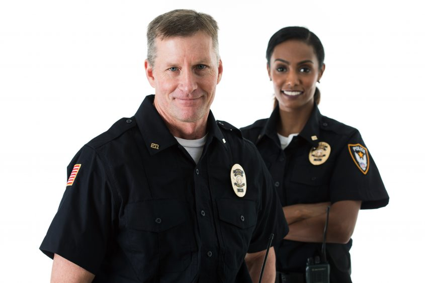 Police: Officer Partners Standing Together