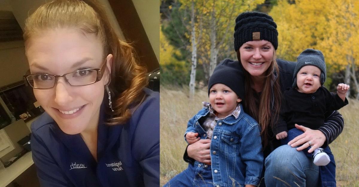 LeAnn-Pettis-Cardiac-Nurse-Selfie-and-Kids