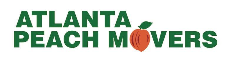 Atlanta Peach Moving Logo
